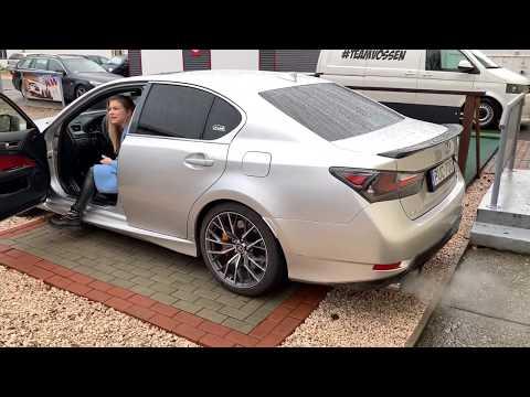 Lexus GS F - Full GTHaus Meisterschaft exhaust