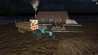 Farming Simulator 2017 : Запуск ЛЕСОПИЛКИ