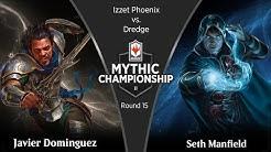 Round 15 (Modern): Javier Dominguez vs. Seth Manfield - 2019 Mythic Championship II