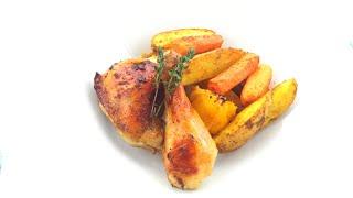 Курица с Апельсинами в Соевом соусе