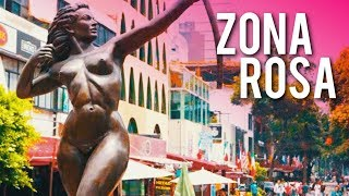 Mexico City's Vibrant Nightlife & Gay Spot! | TOUR of Zona Rosa