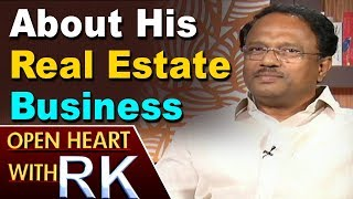 Telangana Health Minister Laxma Reddy about his Real Estate Business | Open heart with RK