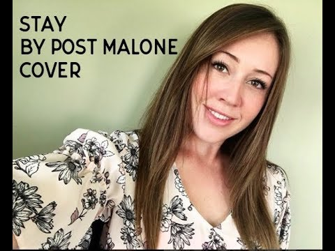 "Girl Sings ""Stay"" by Post Malone"