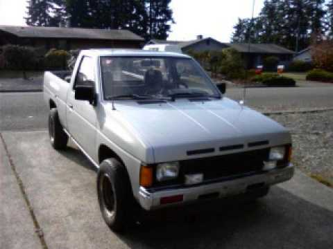 1987 nissan 2wd - YouTube