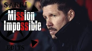 Atletico Madrid . Mission Impossible . Ucl