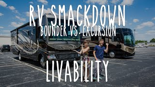 RV Smackdown - Bounder vs Excursion Livability