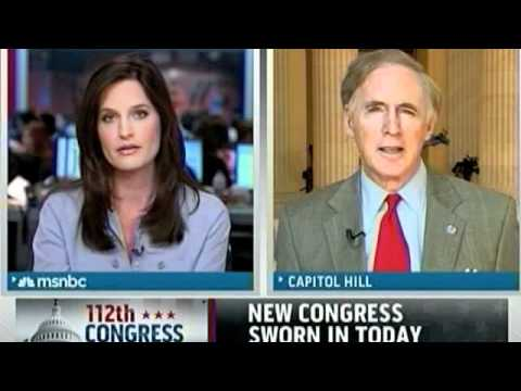 MSNBC Asks Stearns About 112th Congress