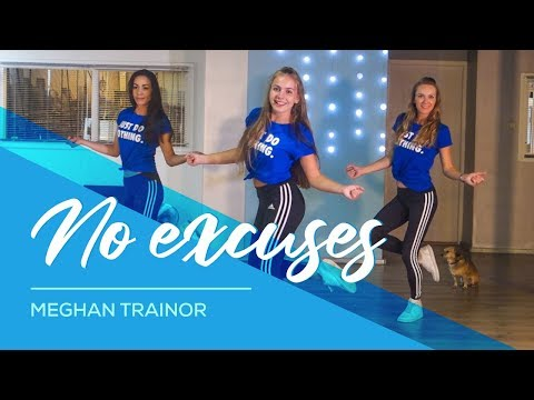 No Excuses - Meghan Trainor - Easy Fitness Dance Choreography - Baile - Coreo