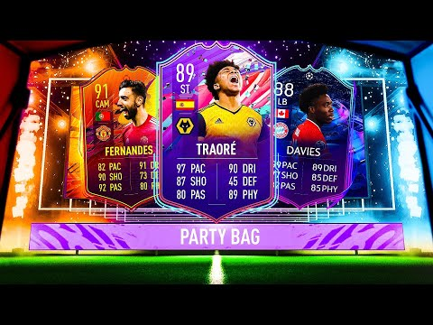 THIS IS WHAT I GOT IN 35x FUT BIRTHDAY PARTY BAGS! #FIFA21 ULTIMATE TEAM