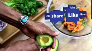Delicious Live Foods: Peach, Papaya, Avocado Salsa