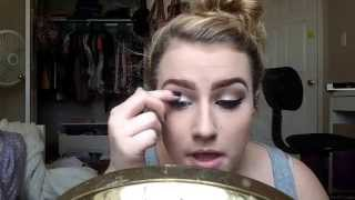 Naked 2 cut crease extended eyeliner tutorial Thumbnail
