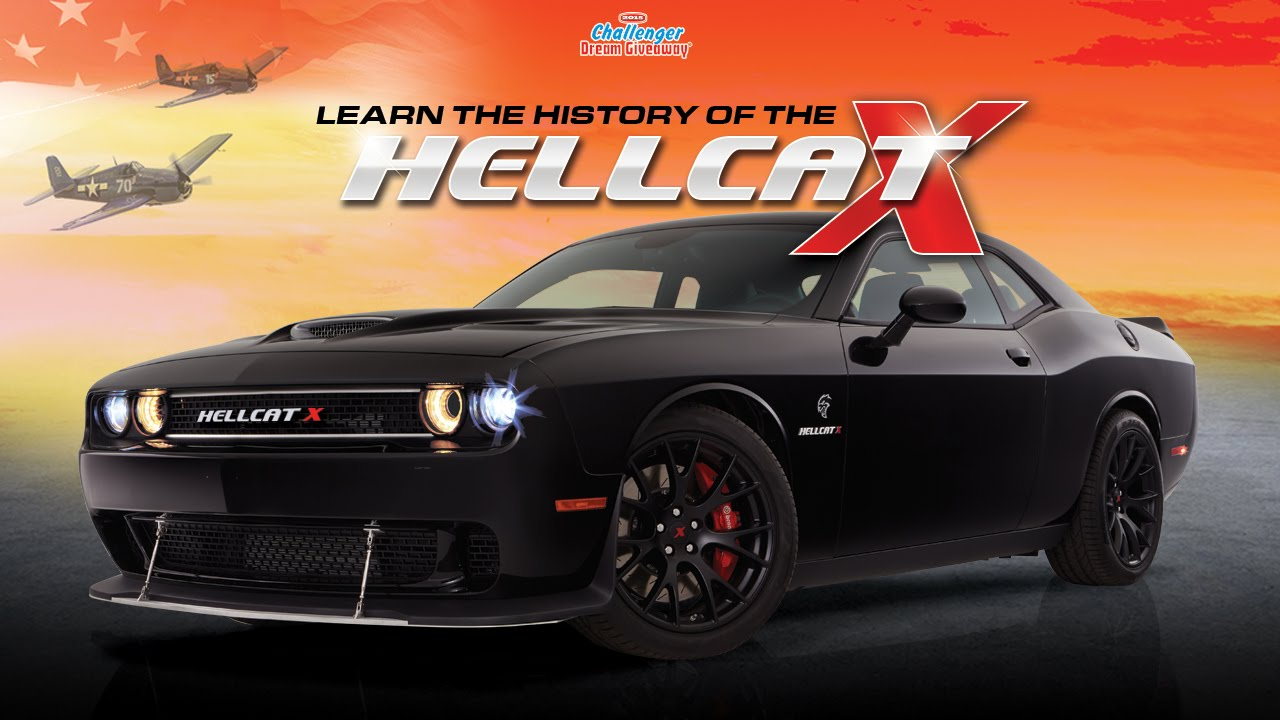 Dodge Charger Srt Hellcat >> Challenger Dream Giveaway®- History of the 2015 Hellcat X - YouTube