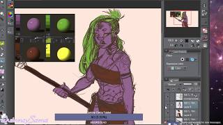 Focused Stream , Working on Colours ( Not looking at Chat )