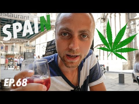 is weed LEGAL in Barcelona?! (Exploring El Born District)