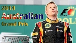 Australian Grand Prix│Formula 1│2013│HD