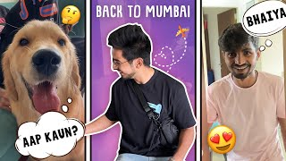 Back to mumbai 😍   Best surprise milgya 🎁