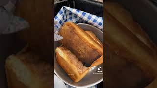 아궁이에서 굽는 식빵