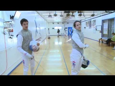 Olympic Fencing Family