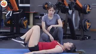 Bài tập làm giảm mở bụng hiệu quả dành cho các em gái