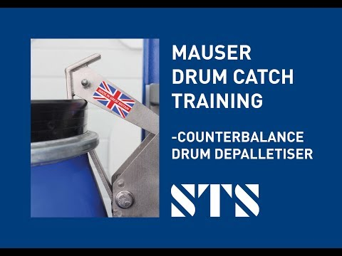 STS - Mauser Style Drum, Catch Training Drum Handling Equipment (Model: DTP08)