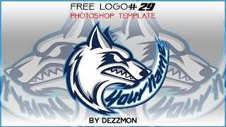 FREE LOGO TEMPLATE PHOTOSHOP #29
