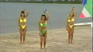 Fitness Beach (Yellow Bikini 6)