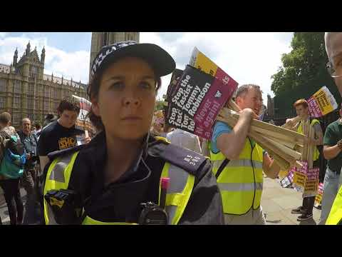 #FreeTommy: Police Refuse Sargon at Anti-Tommy Demonstration