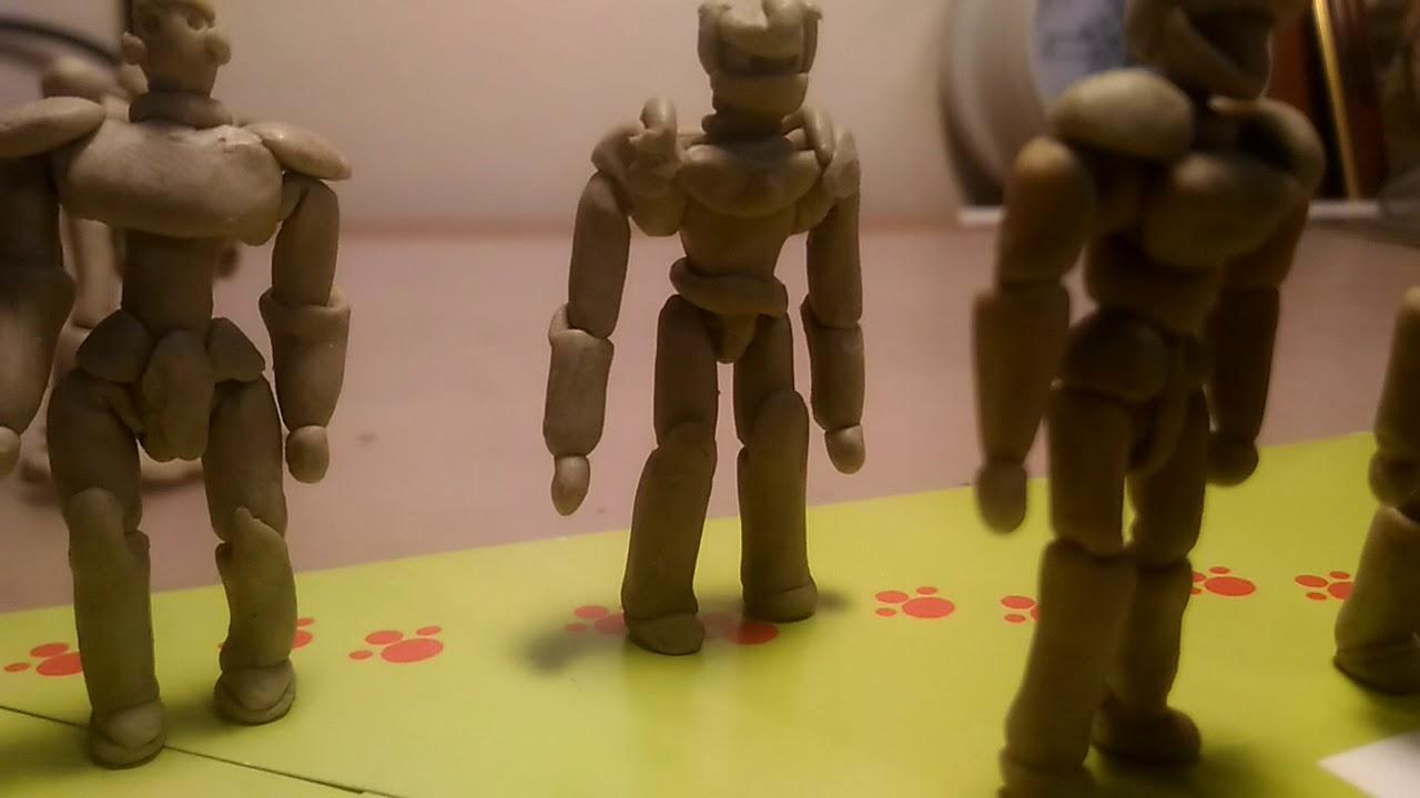 получаются картинки про роботов из пластилина вот если хотите