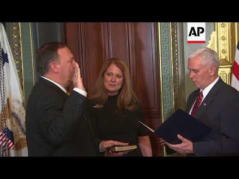 Trump Names Pompeo as Secretary of State