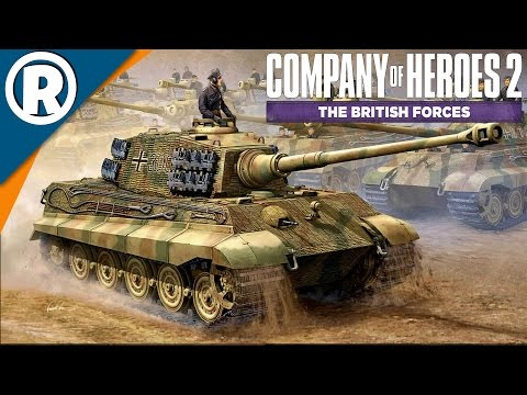 RUN, KING TIGER - Company of Heroes 2: The British Forces