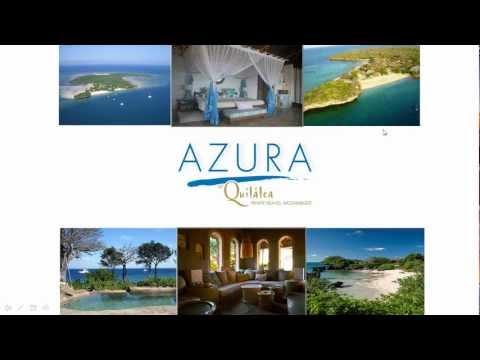 Azura at Quilalea recorded presentation