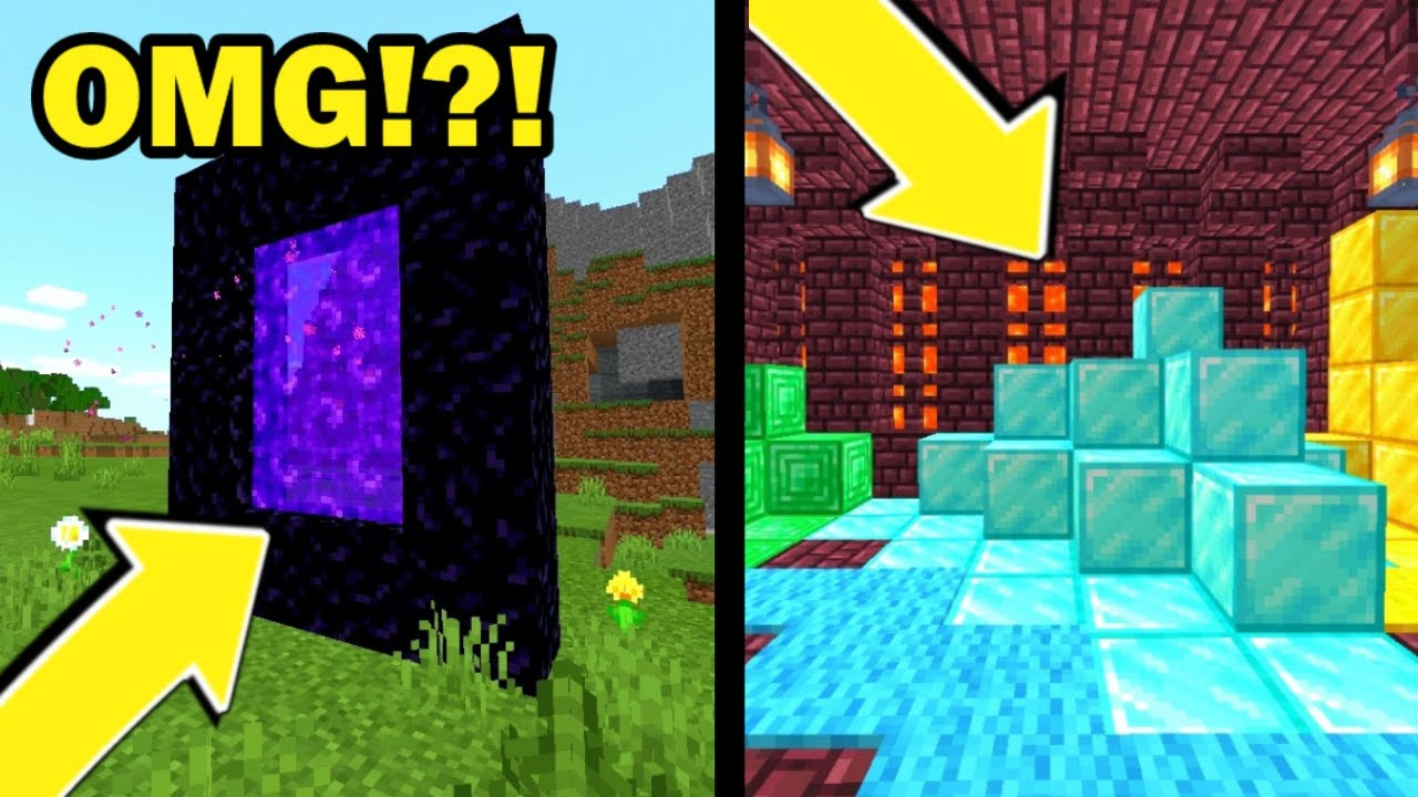 I Explore The Nether And This Is What I FOUND In Minecraft!!?!  *SECRET* Episode 8