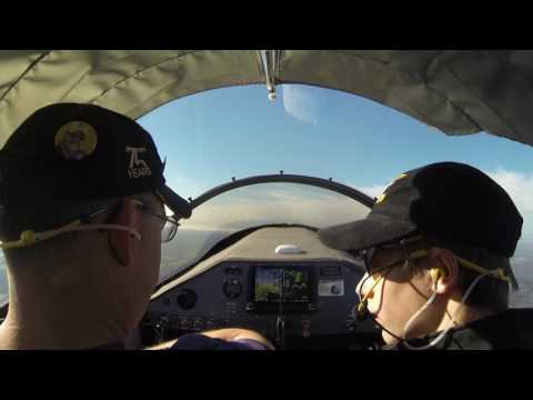 Slow Flight and Stall Practice, 21 Jan 2017