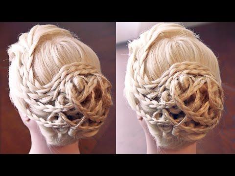 Причёска - стиль средневековья - Hairstyles by REM