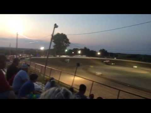 Casey Capps Heat Race 7-23-16 Grayson County Speedway