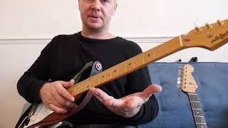 Mark Knopfler right hand technique explained - Lesson
