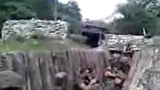 Боевые действия в Кодорском ущелье в начале августа. Семки с грузинской стороны.