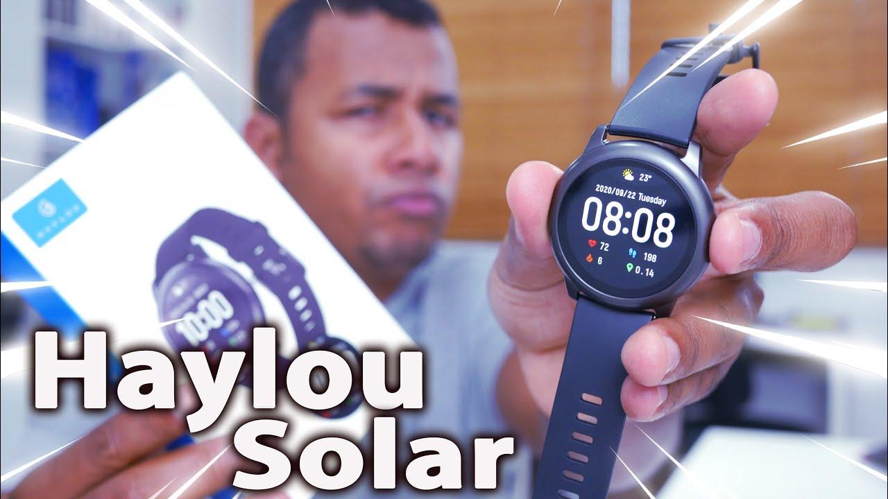 O RELÓGIO da XIAOMI de R$ 200 que o povo tanto quer | Haylou Solar