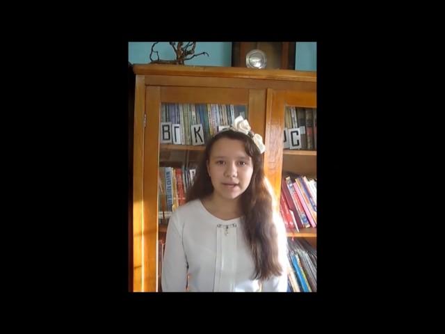 Изображение предпросмотра прочтения – АннаМиндибаева читает произведение «Два Мальчика» И.А.Крылова