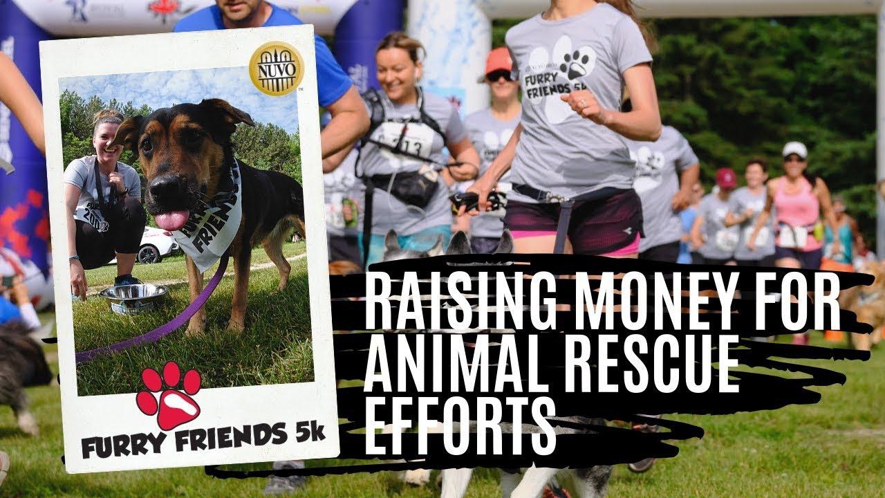 Furry Friends 5K Race Day Video - Caledon 2018