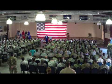 U.S. Secretary of State visits Camp Lemonnier