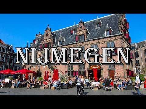 The Netherlands MOST BEAUTIFUL City!  2000 Years Old! - Nijmegen