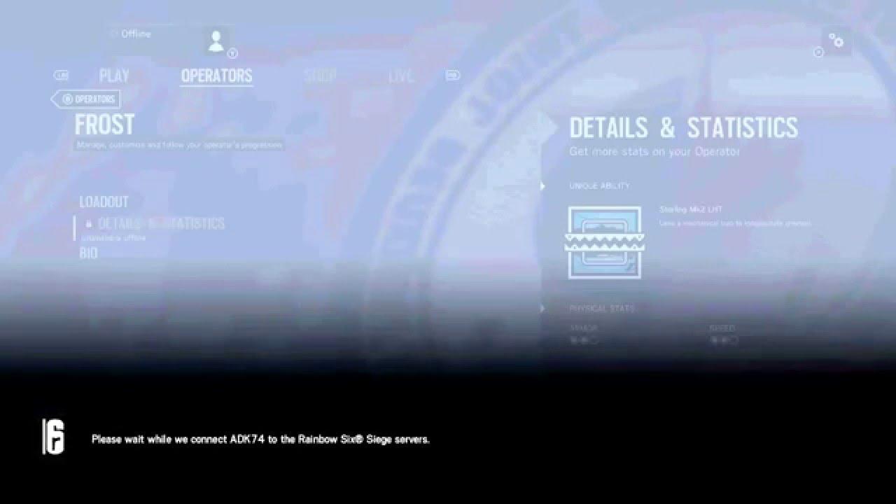 Rainbow Six Siege Error Code 3 0x0001000b Youtube