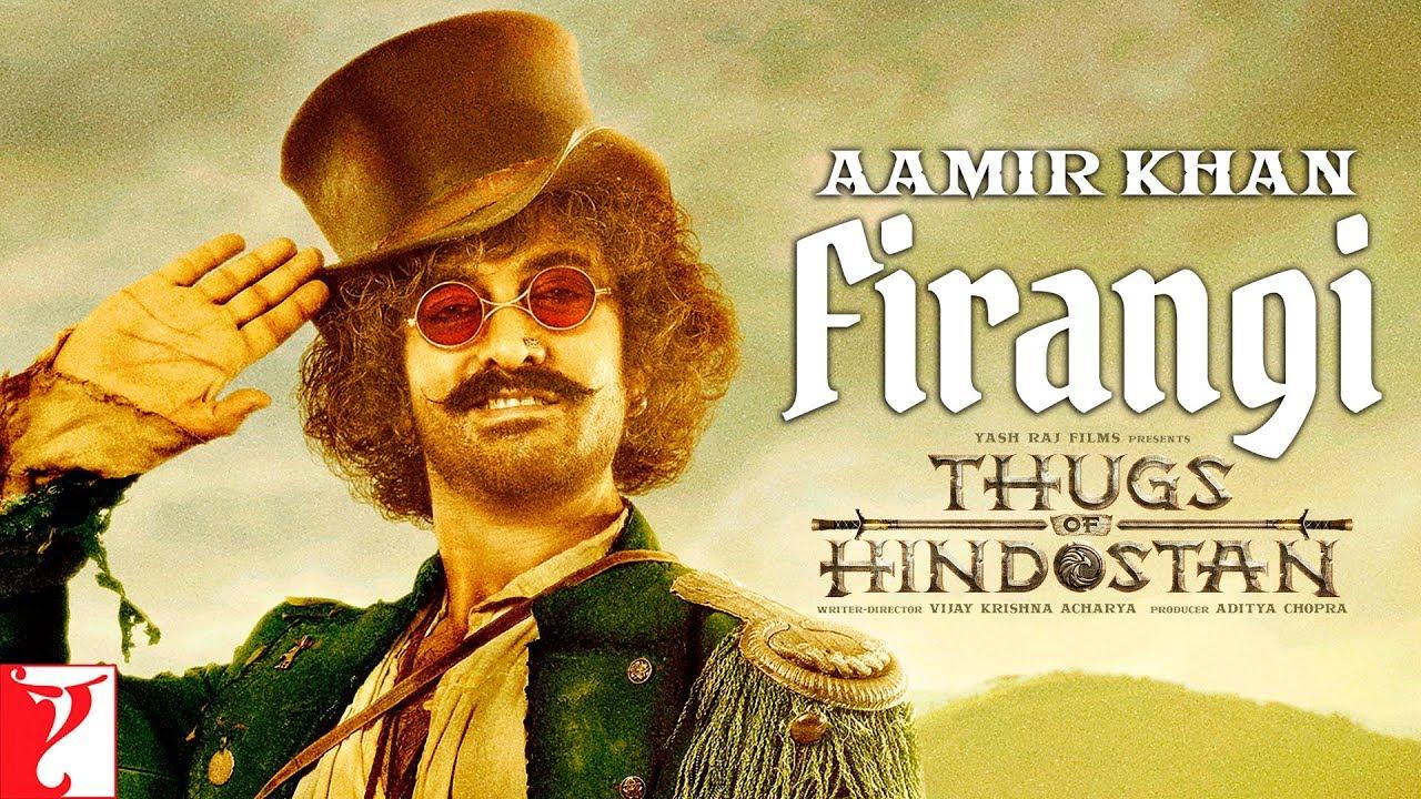 Firangi | Aamir Khan | Thugs of Hindostan | Motion Poster | Releasing 8th November 2018