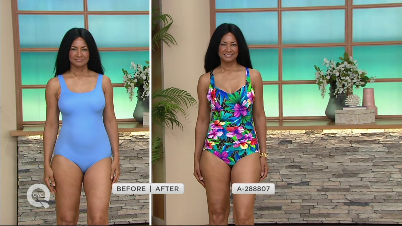 qvc swimsuits