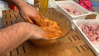 Tavuk Kanat Yapılışı Başka Hemde Tavada Mangal Tadında