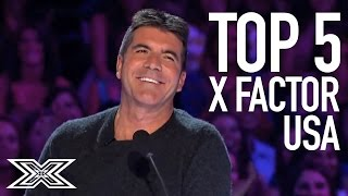 top 5 best auditions on the x factor usa