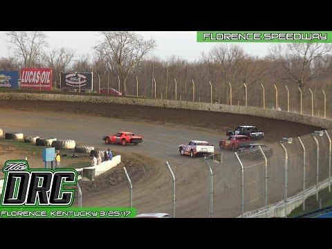 Florence Speedway | 3.25.17 | Pure Stocks | Heat 1