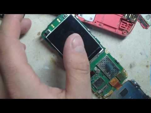 Nokia 5320 замена дисплея
