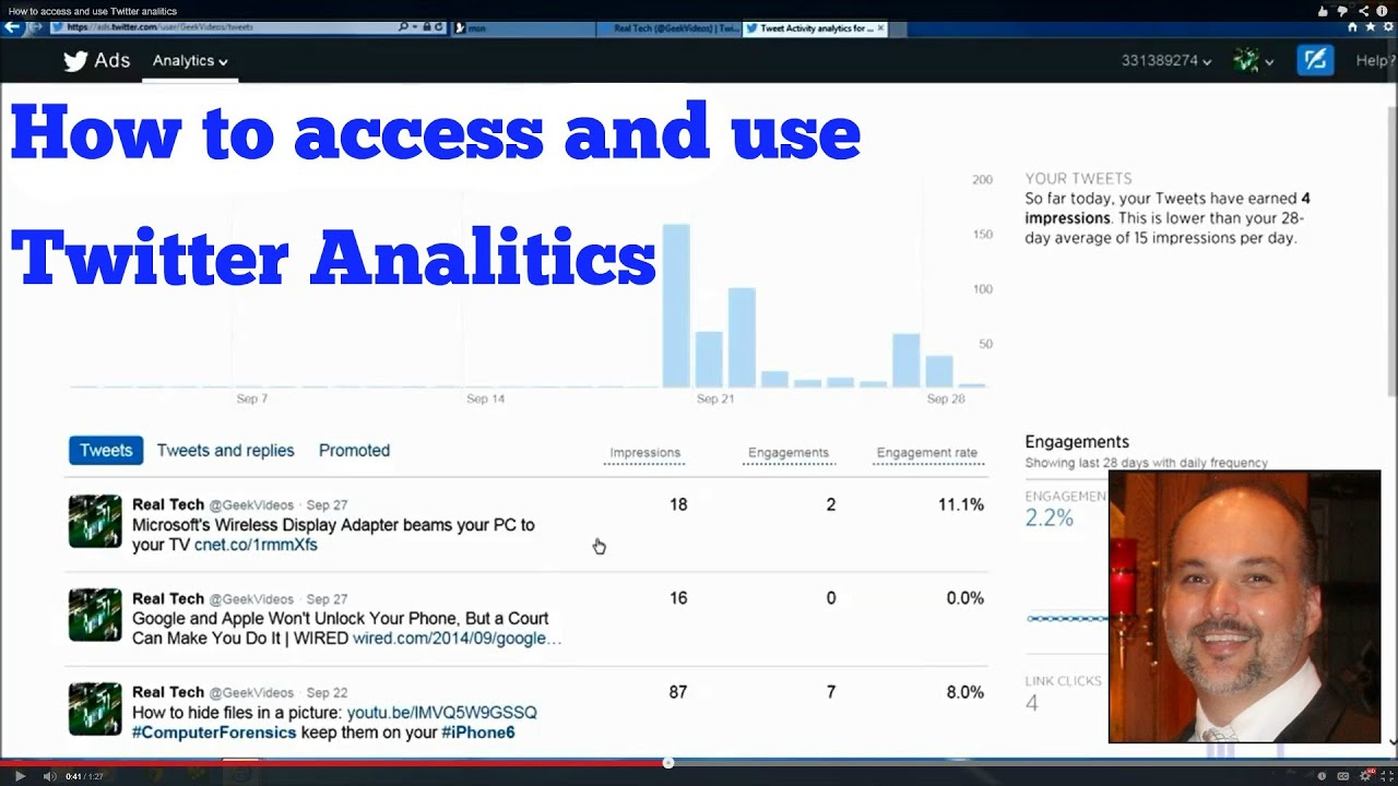 How to access & use Twitter Analytics